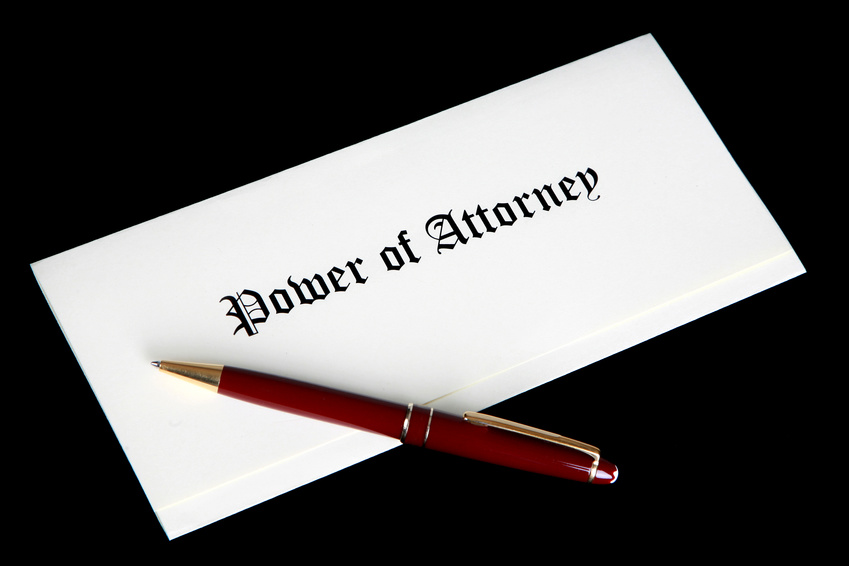 Apostille Power Of Attorney Poa