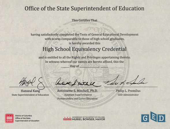 how to apostille a ged diploma